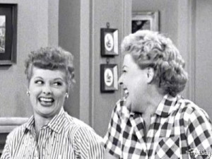 ... vivian vance lucille ball william frawley i love lucy production still