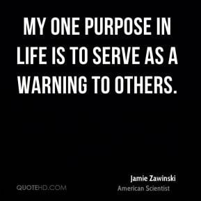 Jamie Zawinski - My one purpose in life is to serve as a warning to ...