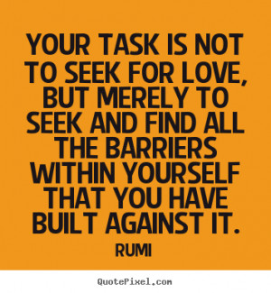 best love quotes from rumi make custom quote image