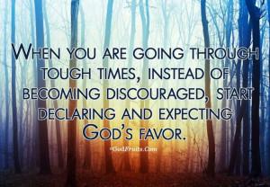Gods Favor Quotes