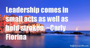 Carly Fiorina Famous Quotes