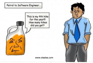 Funny Pictures-Petrol Hike-Engineer-Funny Images-Funny Photos