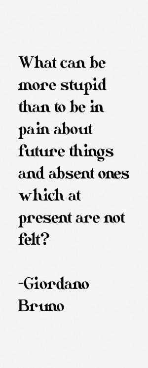 Giordano Bruno Quotes amp Sayings