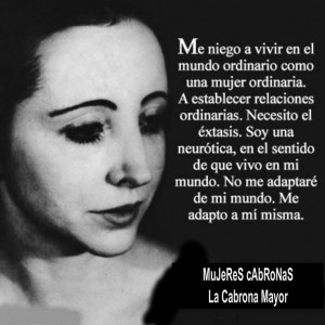 Mujer Cabrona Quotes Found on mujeres-cabronas.com