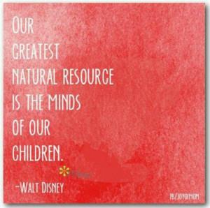 Some words of wisdom from Walt Disney