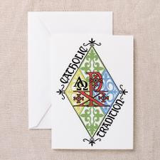 Catholic Tradition Greeting Card for