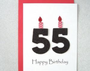 A055 Happy 55th Birthday 055-05