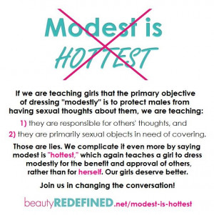 The Way Modesty is Taught to Girls vs. The Way It's Taught to Boys