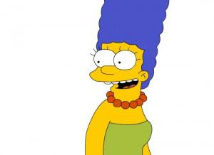 Marge Simpson Happy Image