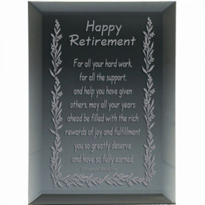 happy retirement keepsake classic say happy retirement in a thoughtful ...