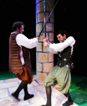 Macduff and Macbeth