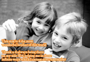 brother to sister quotes and sayings