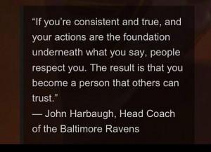 Trust, quote, ravens nfl, harbaugh