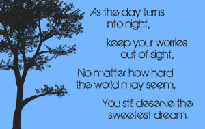 SWEET DREAM QUOTES