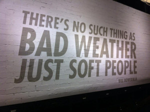 bad weather soft people avid runner