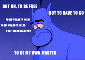 Hilarious Quotes from the Genie in Aladdin