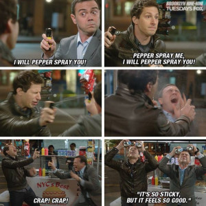 from brooklyn nine nine was the funniest cop on tv
