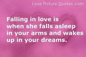 Falling love quotes thinkexist