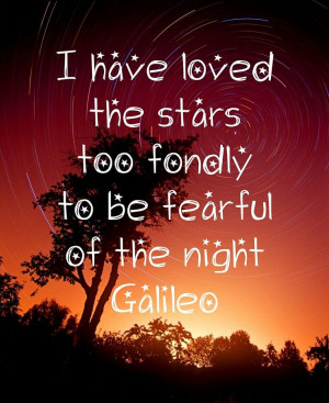 Galileo Quotes About Stars Galileo Quotes About Stars