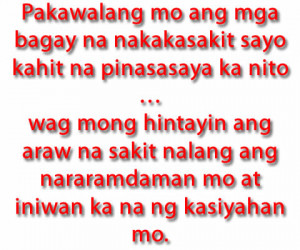Tagalog Funny Love Quotes And Pinoy Sayingsboy Banat Pictures