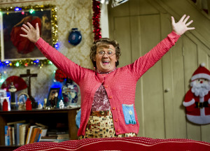 Christmas is just round the corner, and no-one knows what Mrs Brown ...