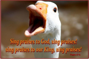 Inspirational bible verses, quotes, sayings, sing