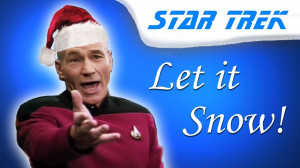 Captain Picard signs