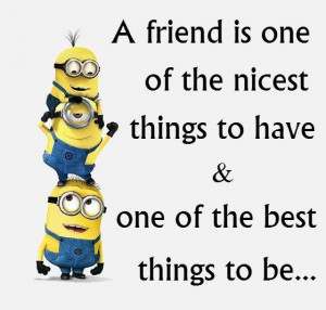 Know The True Meaning Of Friendship By Minions (9 Photos)