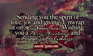 Christmas Eve Love Quotes