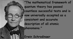 Erwin schrodinger famous quotes 5