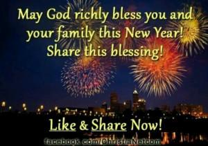 God's blessings for 2013