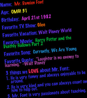 Hallows Part 2Favorite Song: Currently, We Are YoungFavorite Quote ...