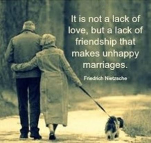 Unhappy marriages