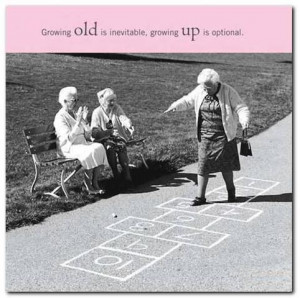 Quote 7: Growing old…