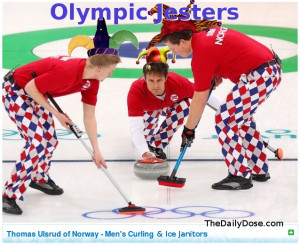 Olympic Jesters - Norway's Ice Curling and Janitor Team @ Vancouver ...