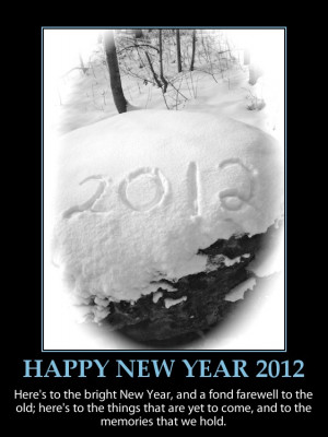 happy new year 2012-inspirational quote-beautiful picture