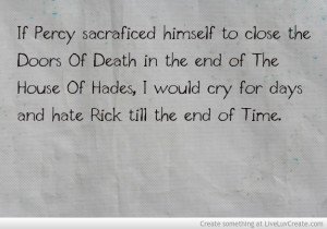 House Of Hades End Percy