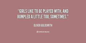 quotes about girls being players