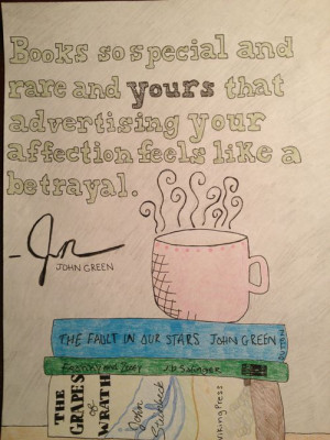 My favorite, most underrated John green quote
