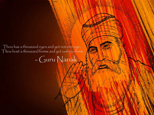 Beautiful Quotes of Guru Nanak Dev Ji HD Wallpapers