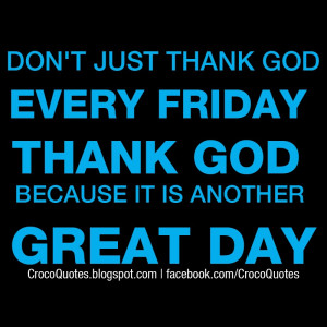 Thank God Its Friday Quotes Thank god its friday quotes