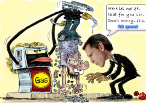 Dalton McGuinty Gas Pricing