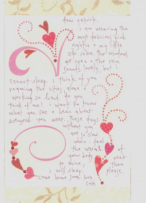 hindi love letters