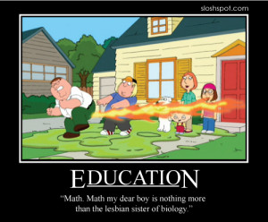 So, don't even think about understanding Lesbians…or Math…or ...