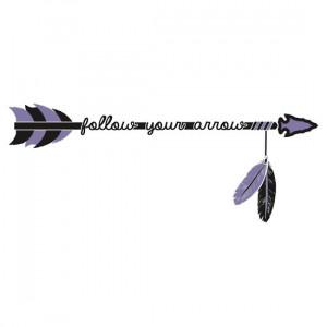 ... Designs › Follow your arrow #sticker #guitarcasedeco #kaceymusgraves