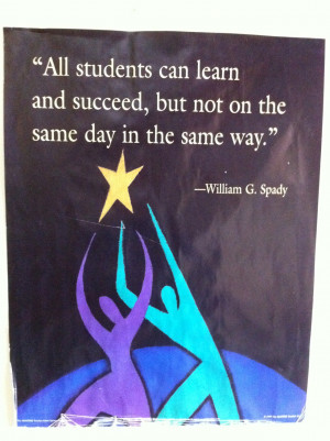 Terrific quote for teachers by William G. Kids aren't robots. They ...