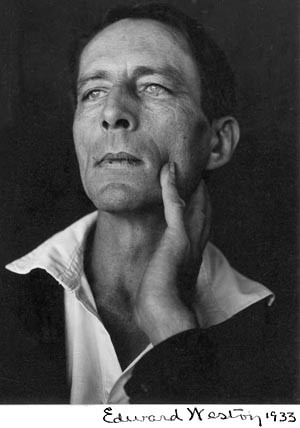 1933 Edward Weston Photo of Jeffers from the Oxy Jeffers Collection
