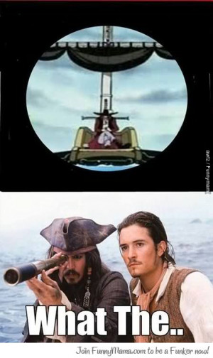 Shit just got real in Pirates of the Caribbean!!