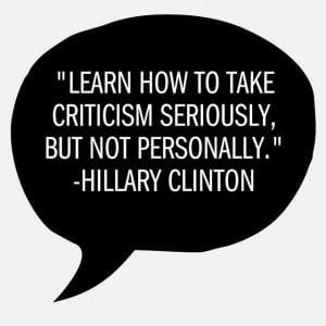 Provide constructive criticism essay