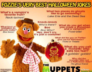 Bear Fozzie Funny Halloween Jokes | has released Fozzie Bear's ...
